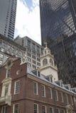 Бостон, прогулка через городской Бостон Стоковая Фотография