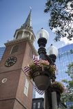 Бостон, прогулка через городской Бостон Стоковое Фото