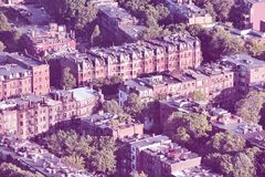 Бостон ретро Стоковые Фото