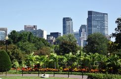 Бостон, скверы МАМ Стоковая Фотография