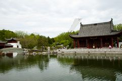ботанический китайский сад стоковое фото rf