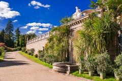 Ботанический сад дворца Sans Souci Потсдам Германия Стоковые Фотографии RF