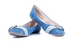 2 ботинка женщин лета против Стоковые Фотографии RF