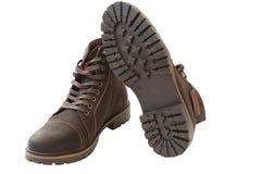 2 ботинка на белой предпосылке Стоковое Изображение RF