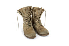 ботинки армии стоковые изображения