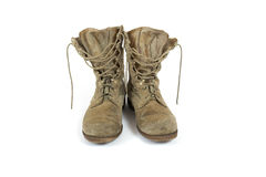 ботинки армии Стоковое Изображение