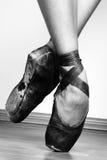ботинки балета стоковая фотография
