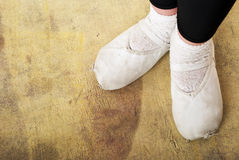 Ботинки балерины Стоковая Фотография RF