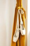 Ботинки балета Pointe Стоковые Фото