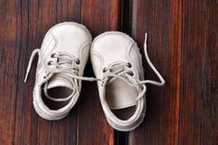 ботинки ботинка младенца Стоковое Фото