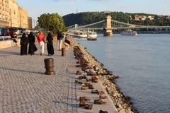 Ботинки Будапешта Стоковое Изображение