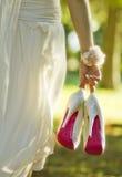 Ботинки венчания Стоковое Изображение RF