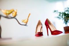 Ботинки венчания Стоковые Изображения