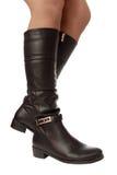 ботинки высокие Стоковые Фото