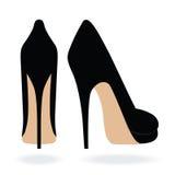 Ботинки высокой пятки Стоковое Изображение RF