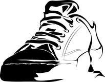 ботинки гимнастики стоковое изображение rf