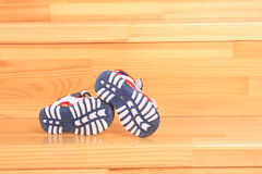 Ботинки детей Стоковые Изображения