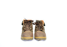 Ботинки детей s Стоковые Фотографии RF