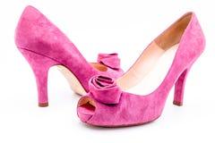 Ботинки женщин Стоковое Изображение