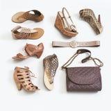 Ботинки женщин стоковые фотографии rf