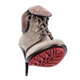 Ботинки зимы элегантных женщин Стоковая Фотография RF