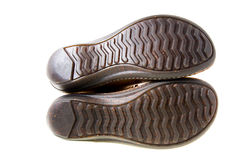 ботинки изолировали подошву стоковое изображение