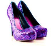 Ботинки диско стоковые фото