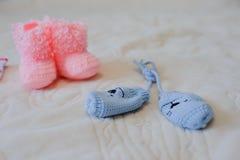 Ботинки и перчатки Стоковое Изображение