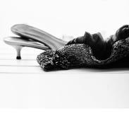Ботинки и платье Стоковые Изображения
