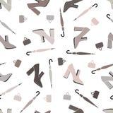 ботинки картины безшовные Стоковая Фотография