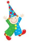 ботинки красного цвета марионетки costume клоуна смешные Стоковое Изображение