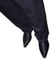 ботинки людей s Стоковые Изображения RF