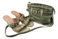 ботинки мешка Стоковое Изображение