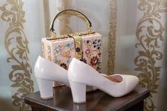 ботинки невесты s Стоковая Фотография RF