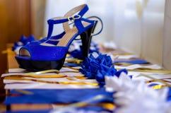 ботинки невесты s Стоковое Изображение