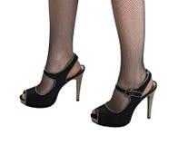 ботинки ног худенькие стоковые изображения