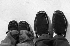 ботинки ног Стоковое фото RF