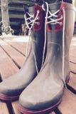 Ботинки дождя Стоковое Фото