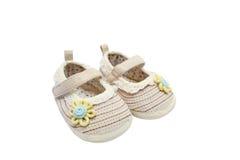 ботинки пар младенца Стоковое Изображение
