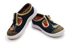 ботинки пар ребенка Стоковое Изображение