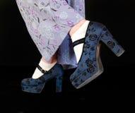 ботинки платформы Стоковое Фото