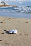 ботинки пляжа Стоковые Фотографии RF