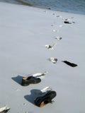 ботинки пляжа стоковое изображение