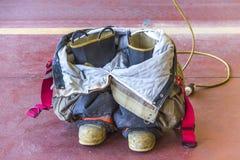 Ботинки пожарного Стоковые Фото