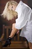 ботинки предводительствуют сексуальное стоковые изображения rf