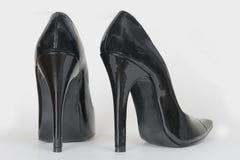 ботинки пятки высокие Стоковые Фотографии RF