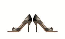 ботинки пятки высокие Стоковые Фото