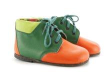 ботинки ребенка s Стоковые Фотографии RF