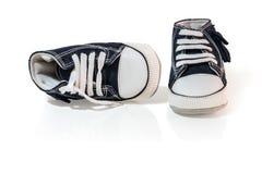 Ботинки ребенк Стоковая Фотография