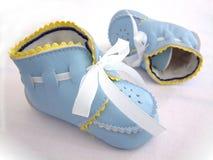 ботинки ребёнка первые s Стоковые Изображения
